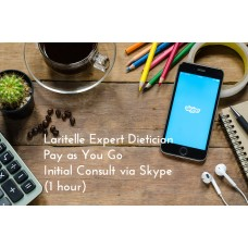 Laritelle Expert Dietician Pay as You Go Initial Consult via Skype (1 hour)