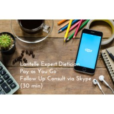 Laritelle Expert Dietician Pay as You Go Follow Up Consult via Skype (30 min)