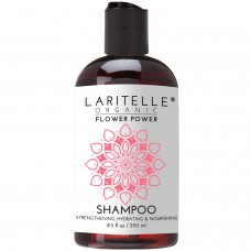 Laritelle Organic Unscented Shampoo Flower Power 8.5 oz