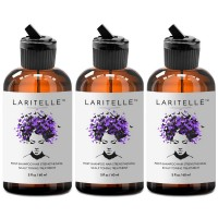 Laritelle Organic Post-Shampoo Hair Strengthening Treatment 3 x 2 oz