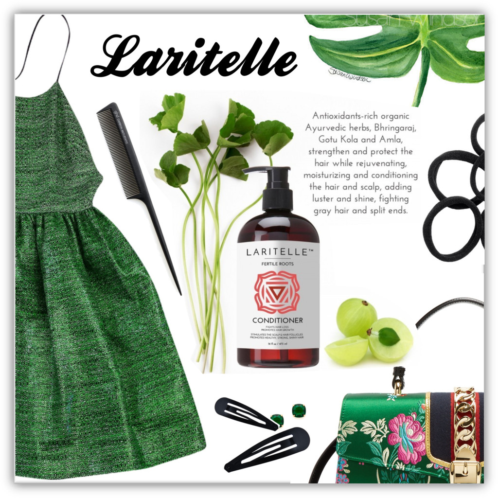 Organic hair care with Laritelle