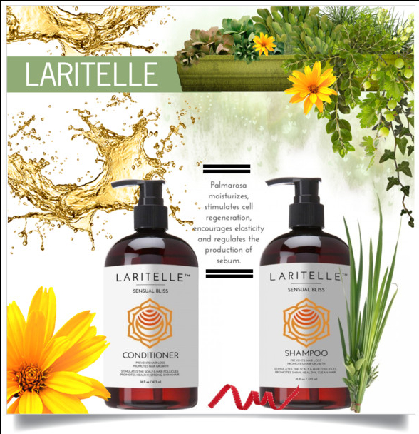 Gorgeous hair with Laritelle