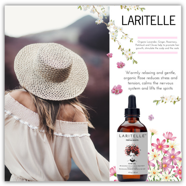 Laritelle Organic Hair Loss Treatment Plus Hormonal Balance Oil
