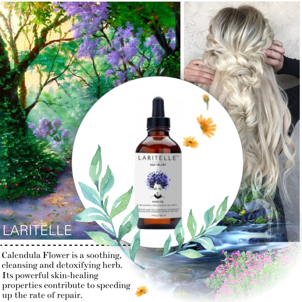 Laritelle Organic Silk Velvet Hair Growth Treatment